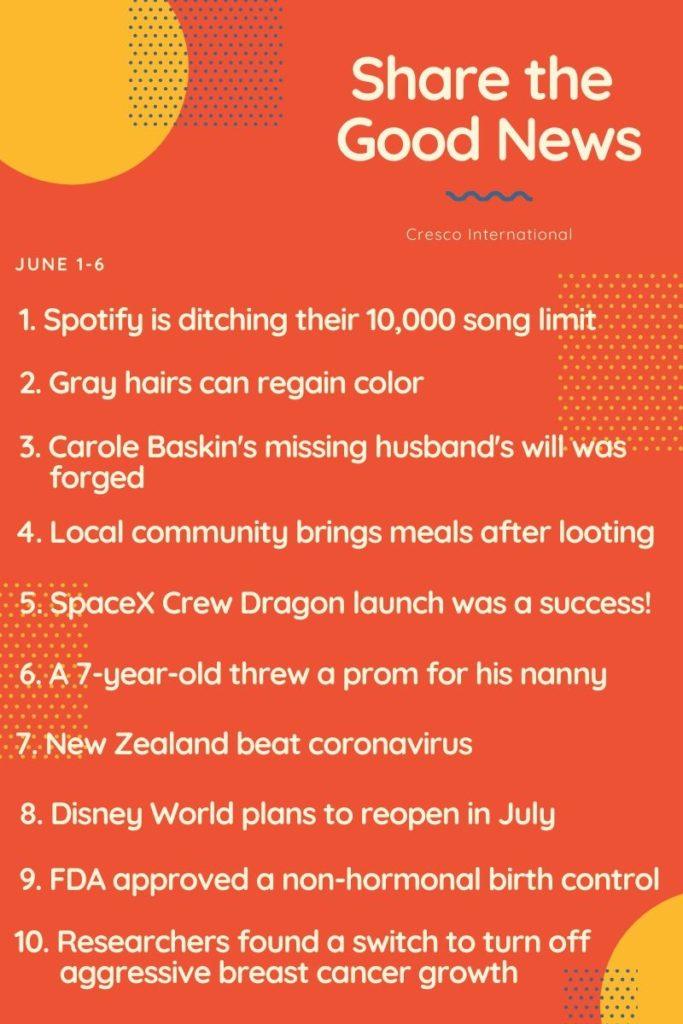 Good News June 1-6 - Share